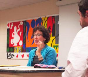 Dr. Sharon at a Workshop